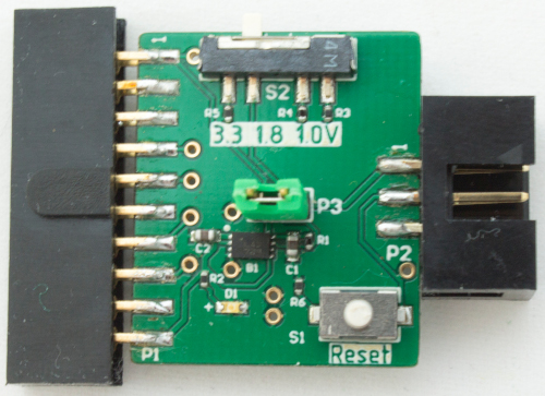 ARM/ JTAG/ J-Link 20-Pin to TC2030 6-Pin Programmer Adapter